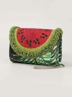 Sarah's Bag 'Watermelon Palm' crossbody bag