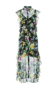 Ruth Floral Midi Dress by MARISSA WEBB for Preorder on Moda Operandi
