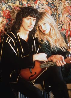 Ritchie Blackmore & wife Candice Night of Blackmore's Night