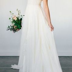 flutter-sleeve-modest-bridal-gown