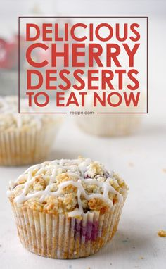 Here are a few of our favorite cherry desserts from some of our favorite food blogs to help you make the most of this seasonal fruit!