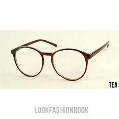 a1685a68d5 Vintage Fashion Designer Round Thin Frame Women MEN Unisex Eyeglasses 4  Colors