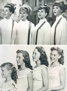 Lennon Sisters on Lawrence Welks