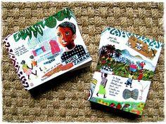 2 nouvelles cartes postales - tirées de mon carnet de  Mayotte ! ☼ 2 new postcards - from my Mayotte's sketchbook !