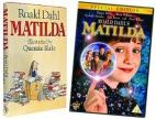 Matilda by Roald Dahl. Movie released on August 2, 1996.