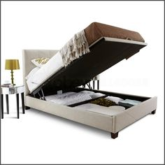 Bed Frames With Storage hydraulic storage bed, the new version of king storage bed frame