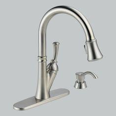 54 best delta kitchen faucets images on pinterest delta faucets rh pinterest com
