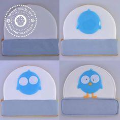 ¡Mamimanitas ya está en Twitter! » Mamimanitas. Royal icing Twitter cookie