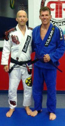Jeff Crum awarded his Purple Belt in Brazilian Jiu Jitsu