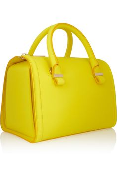 Victoria Beckham | Seven small matte-leather bowling bag | NET-A-PORTER.COM-