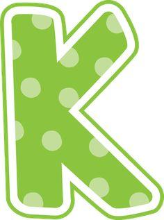 Gifs y Fondos PazenlaTormenta: LETRAS MAYÚSCULAS DE COLORES PARA IMPRIMIR Polka Dot Letters, Bubble Letters, Monogram Alphabet, Alphabet And Numbers, Alphabet Print, Printable Banner, Printable Quotes, Printable Alphabet, Abc Font