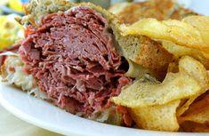 "Attman's Delicatessen | Corned Beef, Pastrami, Sandwiches, Lunch ~~ Cornbeef Sammy from the Original 1915 Location on ""Cornbeef row""..  Classic Baltimore Deli!"