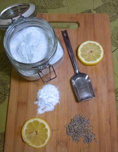 An herbal DIY scouri