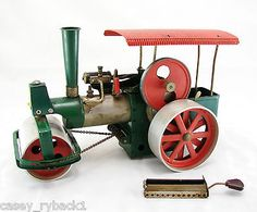 Wilesco Live Steam Train Roller Engine Model Old Smoky Vintage Toy Vintage Toys 1970s, Steam Toys, Safety Valve, Fur Wrap, Rollers, Engineering, Train, Live, Model