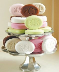 Monogrammed Soap Package | Popular Soaps | Preppy Gift | Marley Lilly.....monogrammed life