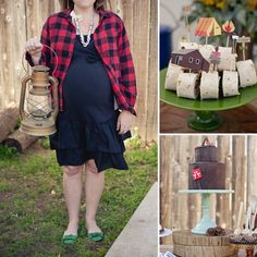 9a936ea46a1 Channel Your Inner Lumberjack. Baby Shower ...