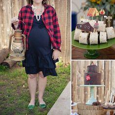 Channel Your Inner Lumberjack | 25 Of The Best Baby Shower ThemesEver