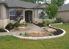Xeriscape Design My Yard - Before/After - Sun City Georgetown