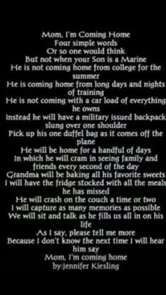 Couldn't say it any better, for all military moms.