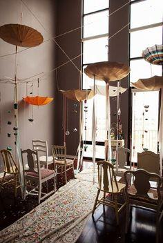 unique indoor ceremony idea