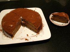 Chocolade cappuccinotaart. Recept uit AH nr. 3 2013