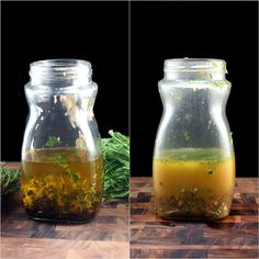 This is the best vinaigrette you'll ever have. Loaded with garlic, herbs plus honey, dijon, and a little bit of a secret ingredient..it elicits raves from all who try it. Dump all the ingredients into a clean, empty jar with a lid, and shake.