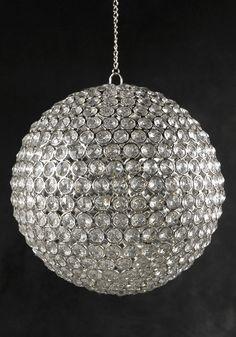 Diamond hanging ball for arbor :D $55