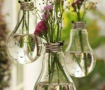 Interesting use of old lightbulbs