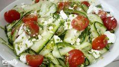 Gm Diet Vegetarian, Vegetarian Recipes, Healthy Recipes, Hungarian Recipes, Light Recipes, Caprese Salad, Food Inspiration, Salad Recipes, Feta
