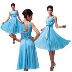 2014-New-Sexy-Short-Mini-Ball-Gown-Chiffon-Party-Cocktail-Bridesmaid-Prom-dress