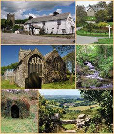 St Breward - includes the cottage used as Nampara, Poldark's home, and various miner's cottages.