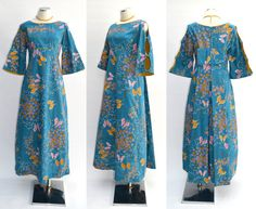 Alfred Shaheen dress / vintage 1960s by BreesVintageBoutique, $245.00. His take on asian clothes is a real treat.