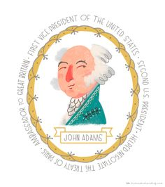 for the Fourth: Founding Fathers printables Founding Fathers as illustrated by Hallmark artist Charlie Hadley Famous Movie Quotes, Quotes By Famous People, People Quotes, Independence Day Holiday, Hot Dog Bar, Patriotic Party, Patriotic Crafts, July Crafts, John Adams