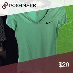 Nike shirt Brand new, teal, Nike pro shirt :) Nike Tops Tees - Short Sleeve