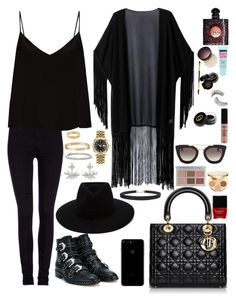 """""""Come little children, i'll take thee away☠🎃"""" by magda094 ❤ liked on Polyvore featuring WithChic, Lee, Raey, Givenchy, rag & bone, Kenneth Jay Lane, Blue Nile, Cartier, Rolex and NYX"""