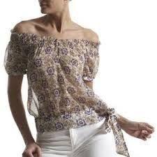 Resultado de imagen para blusas de chifon juveniles estampadas