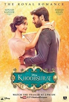 """Are all #khoobsurat people ready for the trailer. We will release trailer in less than 20 hrs #sonamkapoor #fawdkhan"""