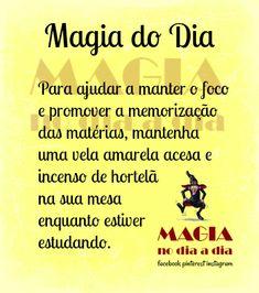 Magia no Dia a Dia: Magia do Dia: estudos