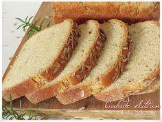 ayçekirdekli ekmek Hot Dog Buns, Bread Recipes, Yummy Food, Breads, Foods, Drinks, Kitchen, Kitchens, Drinking