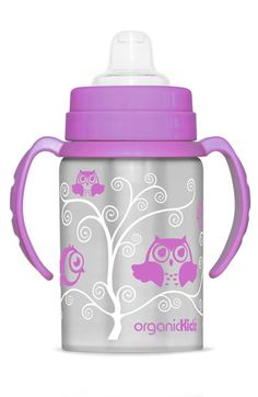 organicKidz™ 'Super Switch' Thermal Stainless Steel Sippy Cup (Online Only)