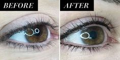 Lash Enhancement Tattoos - Permanent Eyeliner Eyeliner Hacks, Perfect Eyeliner, Best Eyeliner, How To Apply Eyeliner, No Eyeliner Makeup, Winged Eyeliner, Eyeliner Ideas, Eyeshadow, Eyeliner Designs