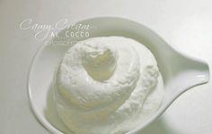 Camy Cream al cocco – ricetta senza cottura