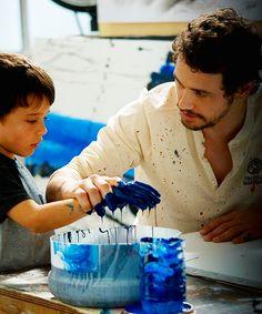 So cute! James Franco / Third Person (2013)