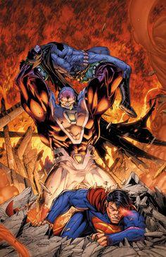 Superman and Batman vs. Mongul