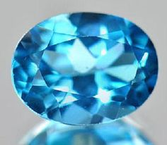 Loose Gemstone Swiss Blue Topaz Natural 226 ct VVS by EUROBEADS, $9.25