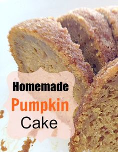 This Homemade Pumpkin Bundt Cake sounds amazing! Our family is praying for nice soaking rains to cool things off where we live, so hopefully our fall season will start acting like Fall, LOL - once it cools down enough outside this is the first recipe I'm going to turn on the oven for...