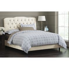Skyline Furniture Panel Bed | Wayfair Supply - my bed