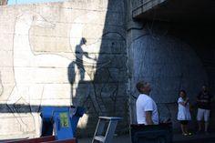 La urban art di Clet a Pistoia