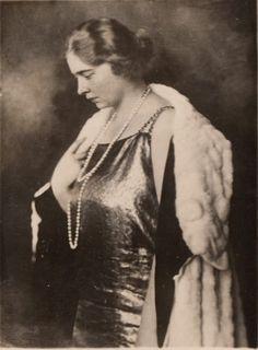 Queen Maria of Yugoslavia.