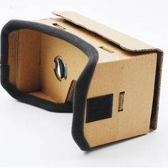 DIY Paperboard Head Wearing High Version Virtual Reality Viewing Glasses For IPhone 5 6 7 Smartphones Headset Virtual Reality Education, Augmented Virtual Reality, Virtual Reality Systems, Virtual Reality Glasses, 3d Vr Box, 3d Glasses, Iphone 5 6, Technology World, Vr Headset